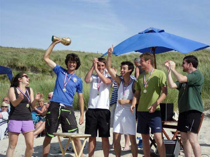 Beach Football Winners 2011