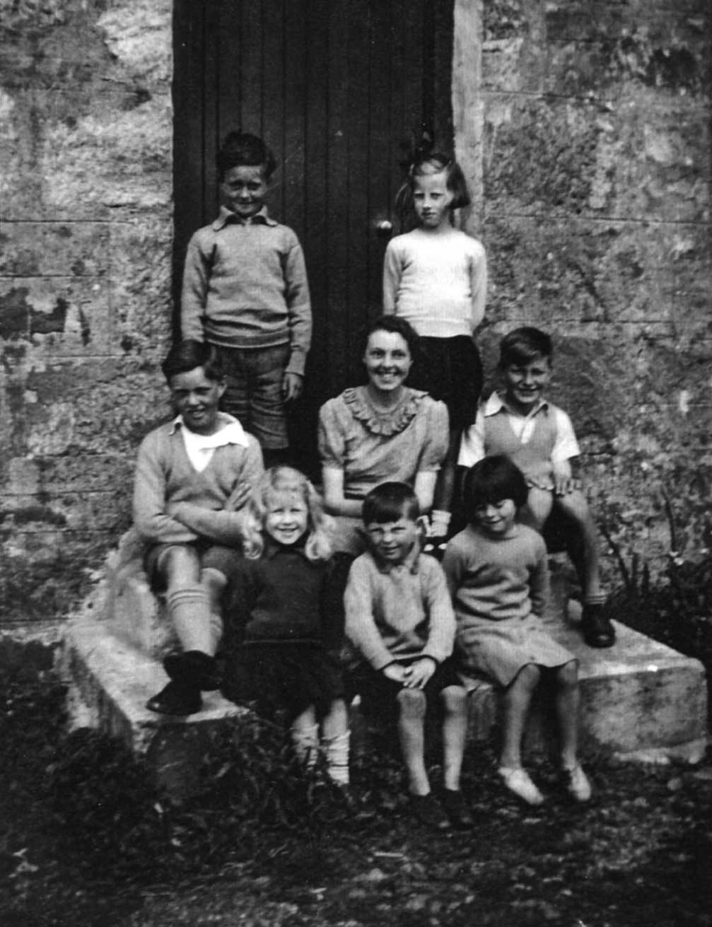 Bound School, Isle of Coll, 1940