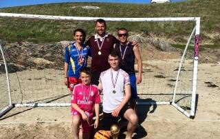 Beach Football 2015