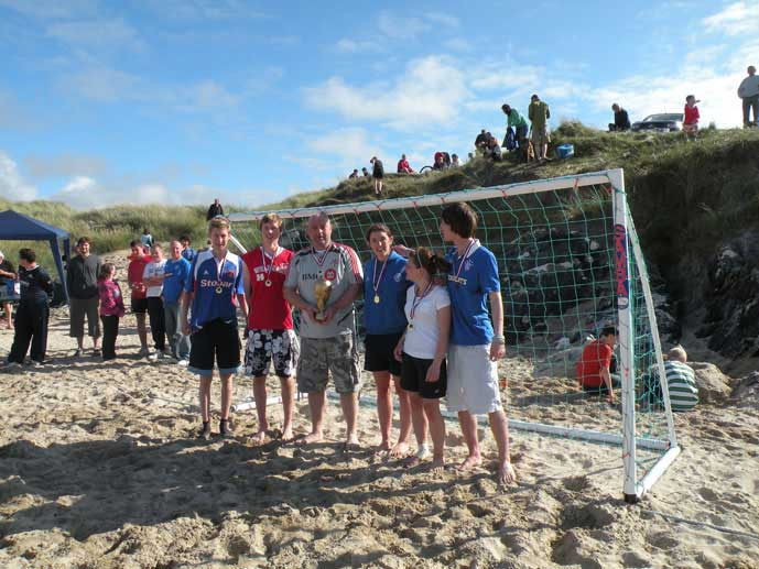 Beach Football Winners 2010