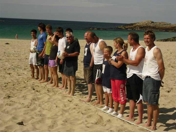 Beach Football Final 2011