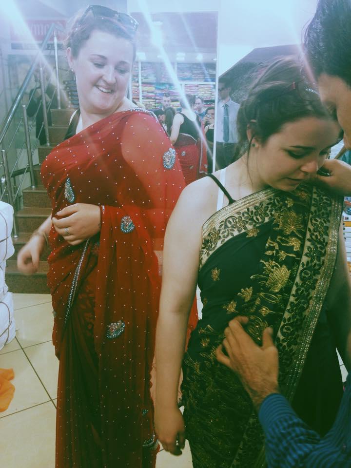 Ella Smalley in India