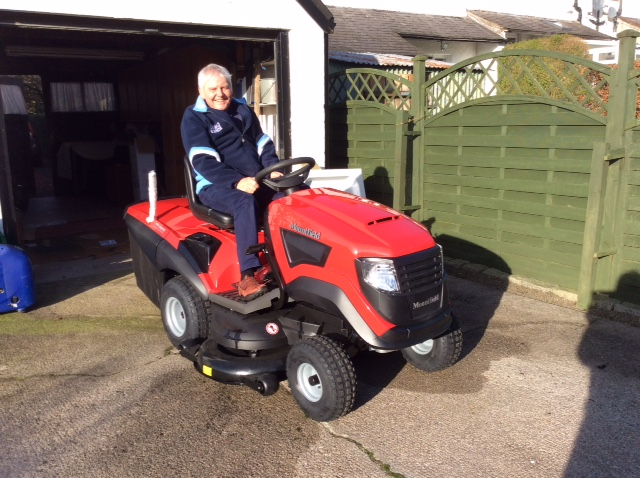 New Mower for Coll Golf Club