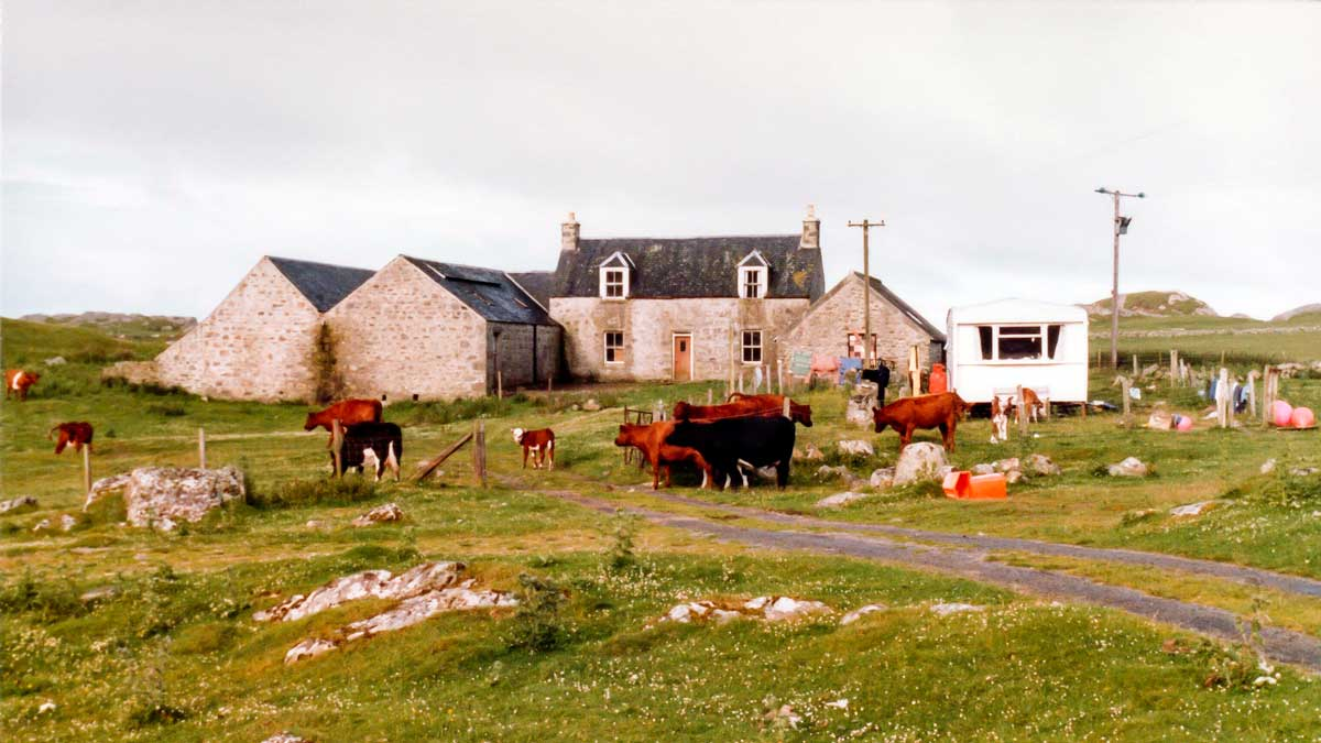 Ballyhough, Isle of Coll, 1981